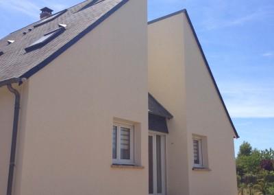 Enduit de façades à Montlouis