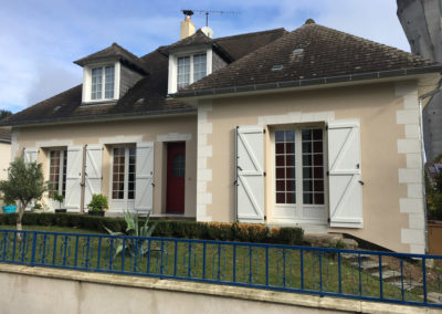 Isolation Thermique par l'Extérieur (ITE) à Joué-lès-Tours