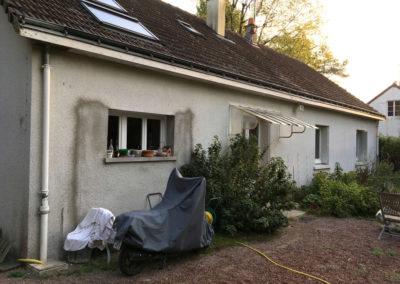 Rénovation de façade - Veigné