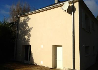 Isolation Thermique par l'Extérieur (ITE) à Ballan-Miré