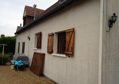 AVANT l'Isolation Thermique par l'Extérieur (ITE) à La Riche en Indre-et-Loire 37