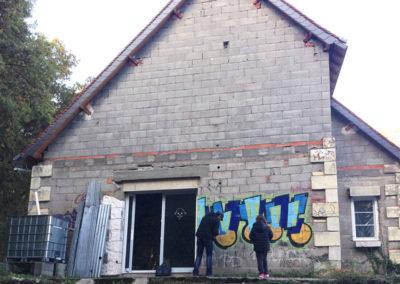Isolation de façades - ITE à Dierre