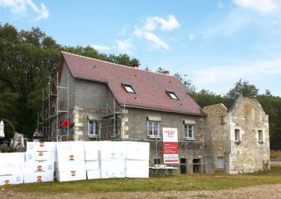 AVANT Isolation de façades - ITE à Dierre