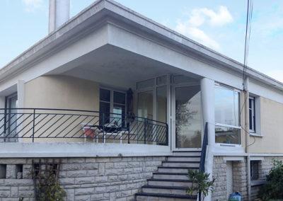 AVANT Isolation de façades - ITE à JOUÉ
