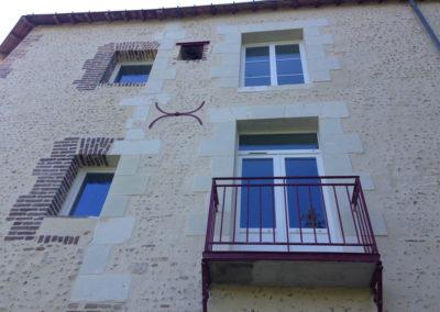 Taille de pierre à Chateau-Renault