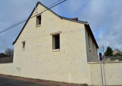 Enduits de façades à Artannes 37