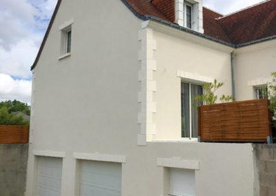 Rénovation de façades à Cormery
