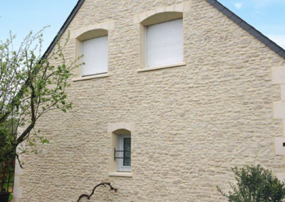 Rénovation de façades à Montbazon