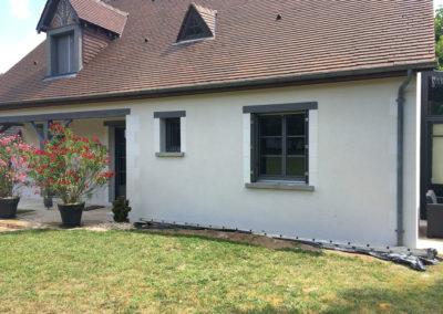 Rénovation de façades à Montlouis