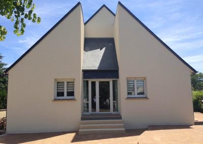 Enduit de façades à Montlouis 37