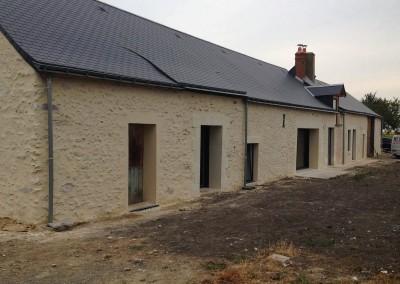 Enduit à la chaux et taille de pierre en Indre-et-Loire (37)