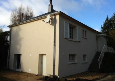Isolation Thermique par l'Extérieur (ITE) à Ballan-Miré en Indre-et-Loire 37