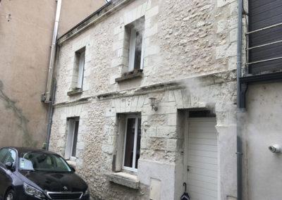Rénovation de façade à Tours