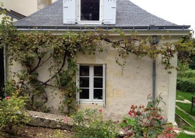 Taille de pierre à Saint-Cyr-sur-Loire (37)