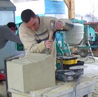 Vif Façades, compagnons tailleurs de pierre