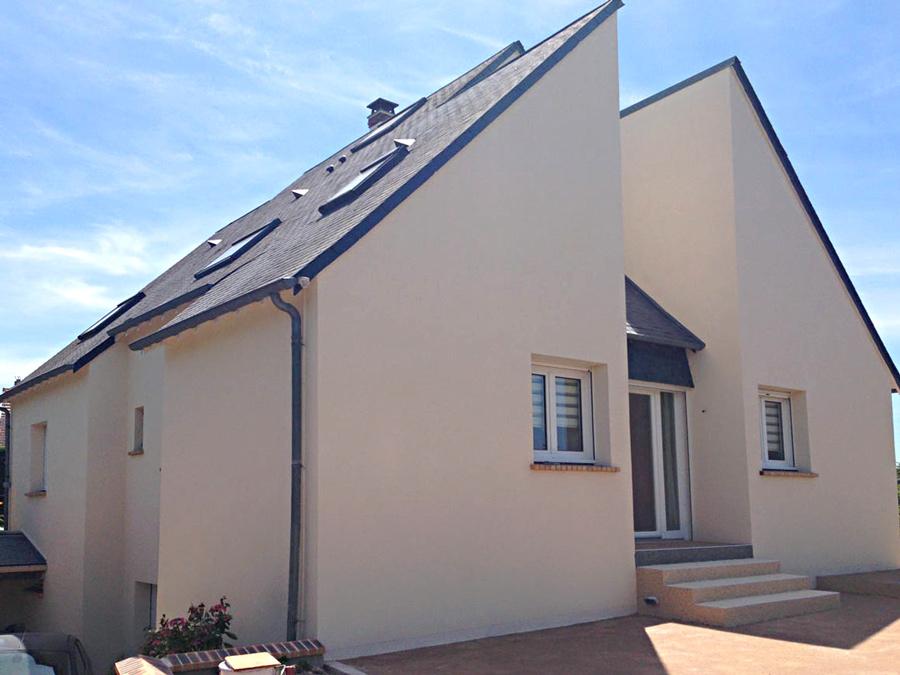 rénovation ravalement de façades indre et loire 37